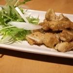 呑処 ひろし櫻 - ぼんじりの柚子胡椒焼き(冷めかけ)