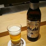 sushinihonryourisawada - 小瓶ビール 680円 2017年11月