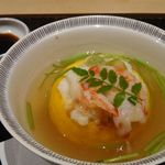 sushinihonryourisawada - 柚子皮器の茶碗蒸し) 2017年11月