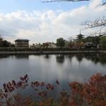 メインダイニングルーム 三笠 - 荒池と興福寺
