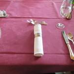 メインダイニングルーム 三笠 - テーブルセッティング