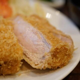 丸五 - 料理写真:特ロースかつ(1850円)