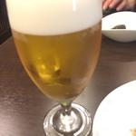 酒と料理 戸塚駅横研究所 - 生ビール