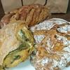 エグ・ヴィヴ - 料理写真:ロデヴ・栗・ほうれん草のパン