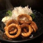 七伍屋 - 料理写真:烏賊ワタ炒め