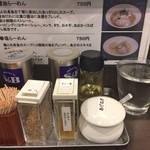 麺屋りゅう - 内観(カウンター上)