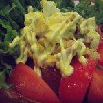 鬼亭 - 鬼亭サラダ