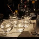 海老の髭 - 日本酒利き酒セット