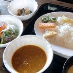 島キッチン - 料理写真:キーマカレーセット