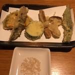 正音 - 季節の野菜天ぷら