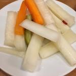 76651426 - 野菜の酢漬け