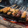 正起屋 - 料理写真:備長炭 炭火焼やきとり