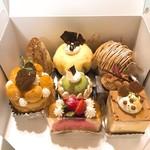 ウルソン - 購入したケーキ8種