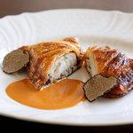 ラ・カロッツァ - 真鯛とトリュフのパイ包み