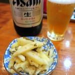 伊勢元 - お通し(長芋炒め)
