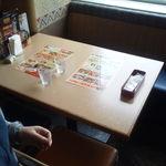 エルトリート 横浜スカイビル店 - 窓側のテーブル席でした^^