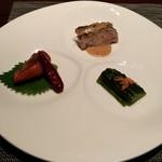 Karin - 前菜三種盛り合わせ