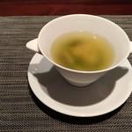 Karin - ワンタン入りスープ
