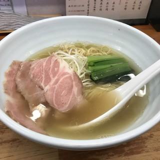 麺屋 一徳 - 料理写真:塩らーめん(750円)