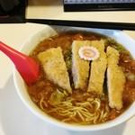 とんかつ栗平 - 料理写真:かつカレーラーメン800円
