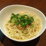 Mr.こってり麺 清乃 - 替玉(無料)