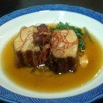 傾奇者 - 豚角煮 500円