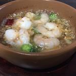 Restaurant & Bar Mashu - 海老のアヒージョ
