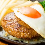 Restaurant & Bar Mashu - ちがさき牛の目玉焼きハンバーグ