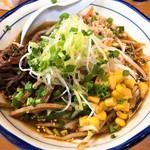 風々亭 - 料理写真:ピリ辛醤油味風々麺(850円)