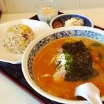 チャイナハウス みんみん - 料理写真:味噌らーめんランチセット‼