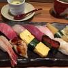 はた鮨 - 料理写真:上握りセットは茶碗蒸しとお味噌汁が付いてます