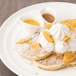 サラベス - スノーウィ―オレンジパンケーキ