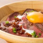 Restaurant & Bar Mashu - 大人気!ローストビーフ丼☆