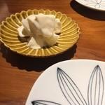 玄蕎麦 路庵 - 梨の白和え