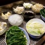 小尾羊 - 野菜10種盛合せ