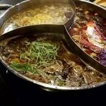 小尾羊 - 2色麺も投入