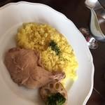あめいろたまねぎ - 料理写真:チキンカレー