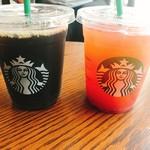 スターバックス・コーヒー - トールアイスコーヒー、アイスグレイピーグレープ&ティ-