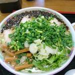 76663524 - 揚げネギチャーシュー麺