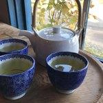 そば舎 あお - 緑茶