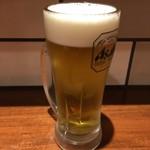麺処 あじ家 - ドリンク写真:生ビール450円