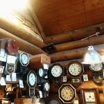 76667424 - 古時計だらけの店内