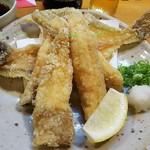魚菜 もも - カレイの唐揚げ