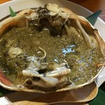 魚菜 もも - 甲羅焼き