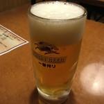 Ajimen - あじめん 生ビール280円
