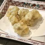 天満産直市場 - 白子の天ぷら
