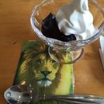 カフェ はぴはぴ - ライオンのコースター素晴らしい