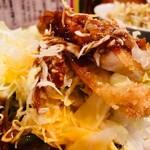 飲食笑商何屋ねこ膳 - 卵黄と濃厚味噌ソースが絡み合う!