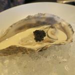 東洋軒 - 29年11月 牡蠣のシャンパンソース キャビア添え