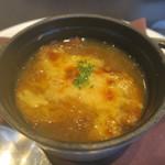 東洋軒 - 29年11月 オニオングラタンスープ